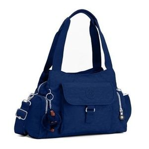 KIPLING FELIX LARGE HANDBAG INK BLUE NWT
